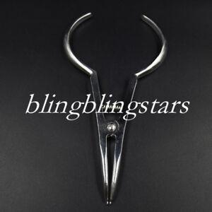 5 Pcs Dental Elastic Separating Pliers Orthodontic Braces Forcep Stainless Steel
