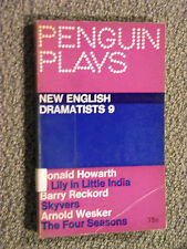 Penguin Play PL68 New English Dramatists 9 Howarth Reckford Arnold Wesker 1966