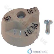 Gas Valve Control Knob Brown / biege Round Dial Fryer Parts falcon pitco etc