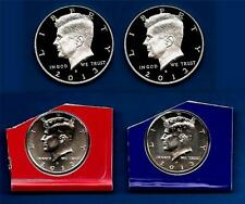 2013 PDSS BU Plus SILVER AND CLAD PROOF Kennedy Half Dollar Set- P D S S