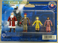 LIONEL POLAR EXPRESS ADD ON FIGURES dudes train people girl santa 6-14273-BOXED
