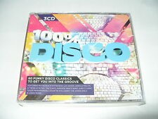100% Disco (3 cd 2011 New & Sealed