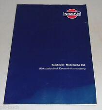 Manuel D'Atelier Carrosserie dans Pied Setzung Nissan Pathfinder R50