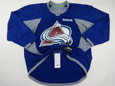 Practice Worn Reebok Colorado Avalanche NHL Pro Stock Hockey Jersey 56 Blue #63