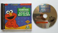 ??? Sesamstrasse Spielerisches Lernen: Spielen mit ELMO ?? CD-ROM PC Spiel???