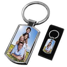 Premium Personalised Photo Keyring + FREE Gift Box
