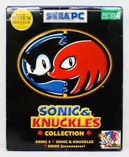 SONIC & KNUCKLES COLLECTION - PC ESPAÑA - CAJA GRANDE DE CARTON SEGA 3