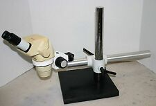 Olympus SZ-4045 ESD Stereozoom Microscope 7-40X on Boom stand