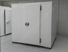 Kühlzelle ohne Kühlaggregat 120x120x200 cm Kühlhaus Kühlraum mit Edelstahlboden