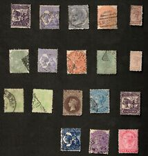 South Australia 1893-99 Mixed Lot of 18 Stamps
