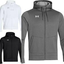 Under Armour Full Zip Hoodie Storm Jacket Sweatshirt Black Grey M L XL DEFECT