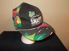 VTG-1980s Snappy Distributor flower hawaii pattern fresh prince style hat sku18