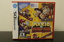 Mario vs. Donkey Kong: Mini-Land Mayhem!  (Nintendo DS, 2010) *Tested/Complete