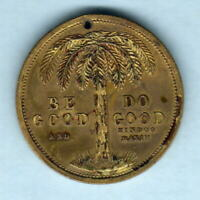Australia - Coles Token. Pure Thoughts / Be Good. Gilt,31mm.  gEF