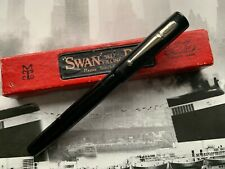 More details for vintage 1930s english art deco mabie todd swan minor no. 2 fountain pen with box