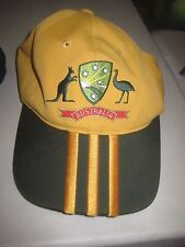Matthew Hayden (Australia)  Signed Australian official  ODI Cricket Cap - Adidas