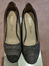 RUSSELL & BROMLEY - Sparkly Coco-Pop Wedges Size - EU37/UK 4