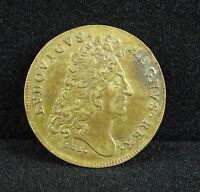 Louis XIV Token Buildings of King Hoc Paces Habuere Bonae Token Aedificia Regia