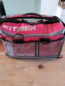 Kitbrix Pink Kit Bag - Triathalon / Running / Gym / Athletics Waterproof