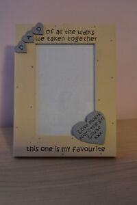 Personalised handmade photo frame DAD OF ALL THE WALKS WE TAKEN - wedding gift