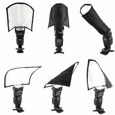 TOP Foldable Flash Diffuser Reflector Snoot Softbox For Canon Yongnuo Speedlight
