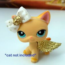 Littlest Pet Shop Accessories LPS Lot Bow Angel Fairy Wings CAT DOG NOT INCLUDED