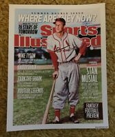 11 X 14 Photo, St Louis Cardinals/Stan Musial SI Covers Photo