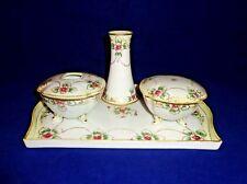 Antique  Morimura Bro. Nippon Porcelain Hand Painted Dresser / Vanity Set