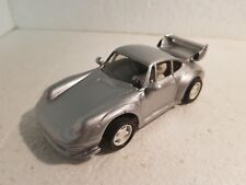 qq TEAM SLOT PORSCHE 911 GT2 RESINE – GREY without motor without engine test
