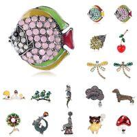 Kristall Tier Blume Gemischt Brosche Charme Hochzeitsstrauß Schmuck Geschenk