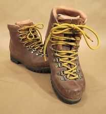 Asolo Sport Yukon Leather Boots • 115 01 N 6-1/2 LS • 6.5 • Italy • Vibram Soles