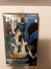 POWER RANGERS LA FOUDRE COLLECTION dans l/'espace Psycho BLUE RANGER Action Figure