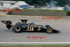 Ronnie Peterson JPS Lotus 72E BRITISH GRAND PRIX 1973 Photo 9