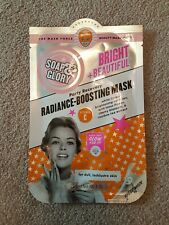 Soap & Glory Bright & Beautiful Party Recovery Radiance Boosting Mask 29g. NEW