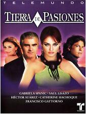 TIERRA DE PASIONES (2006) * Spanish Telenovela * 3-DVD Boxset NEW FACTORY SEALED