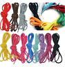 1Pair Round Shoelace Shoe Lace For Athletic Sport Hiking Sneaker Cord 140-200CM