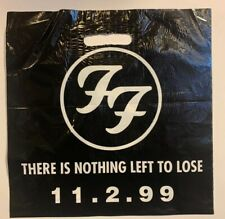 Foo Fighters There Is Nothing Left To Lose Release Record Bag 11 - 02 - 1999