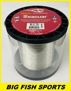 SEAGUAR ABRAZX 100% Fluorocarbon Fishing Line 8LB-1000YD FREE USA SHIP 08AX1000