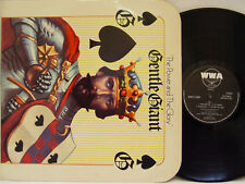"GENTLE GIANT - The Power and the Glory LP (RARE UK Import on WWA, ""rounded"" Cvr)"