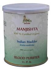 Manjishtha Capsules (USDA CERTIFIED ORGANIC) - 108VCaps - Gopala Ayurveda