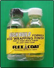 2 oz Flex Coat High Build - Fishing Rod Wrapping Finish - Rod Ring Guide Varnish