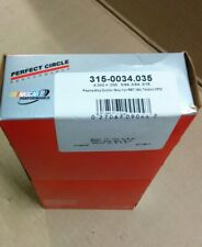 PERFECT CIRCLE 4.030 in Bore Piston Rings  315-0034.035 plasma moly ductile CP20