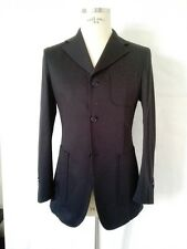 PORT ROYAL  MADE in ITALY tailor Jacket man giacca navy blue it 46 uk 36 us S