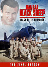 BAA BAA BLACK SHEEP BLACK SHEEP SQUADRON THE FINAL SEASON New Sealed 4 DVD Set