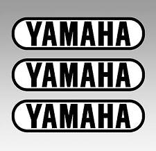 YAMAHA Motorrad Tank 3 Aufkleber 3 Stickers Größe 136 x 34 mm cafe racer bobber