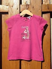 Superbe T-shirt rose IKKS 3 Ans