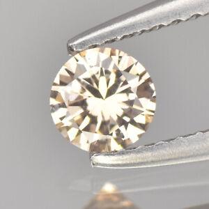 Fancy Brownish Pink Diamond | 0.11 cts Round Shape | Untreated Fancy Diamond