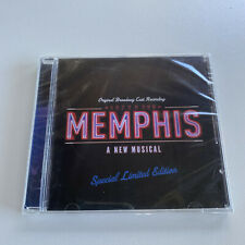 Memphis Original Broadway Cast Recording NEW Musical Special Limited Edition