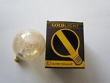 rarité - Paulmann Lampe de globe E27 100W G100/G95 krokoeis Or Lumière or GLOBE