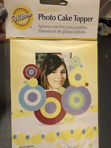 NEW NIP WILTON CAKE DECORATION TOPPER Sweet Dots